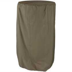 Sunnydaze Outdoor Water Fountain Cover, Khaki, Size Options Available