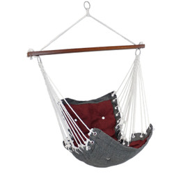 Sunnydaze Tufted Victorian Hammock Swing for Indoor or Outdoor Use, 300-Pound Weight Capacity