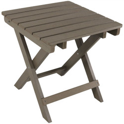 Sunnydaze All-Weather Folding Patio Side Table, Recycled HDPE Construction
