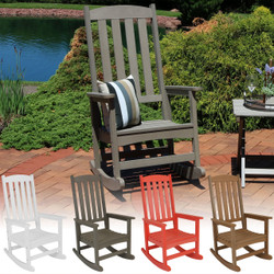 All-Weather Rocking Chair with Color Options