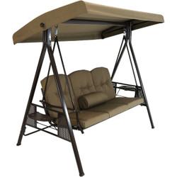 Beige Canopy Swing