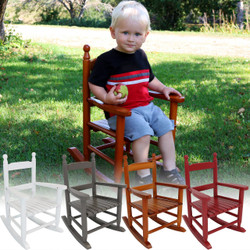 Child-Size Modern Wooden Rocking Chair