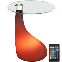 LED Modern Side Table with Remote Control