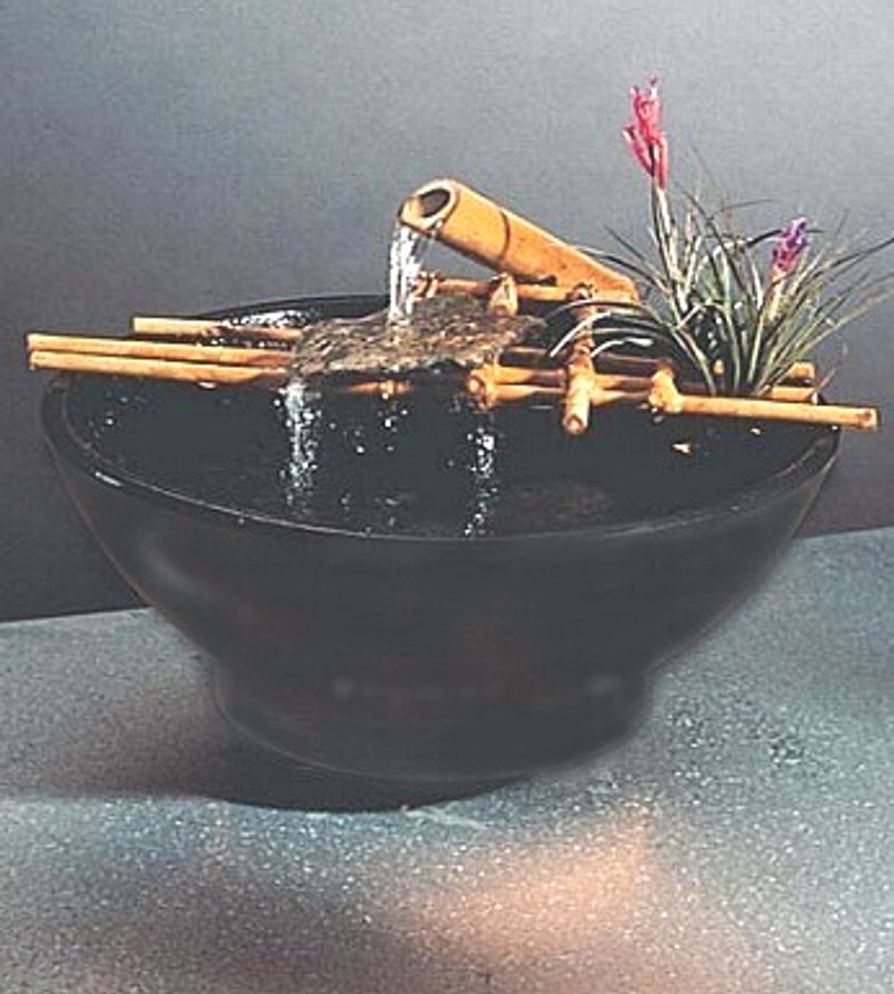 Nature Bowl Tabletop Fountain #203