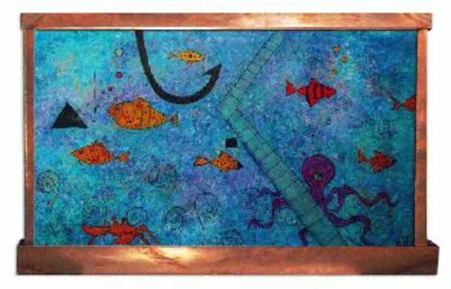 Happy Fish Wall Fountain