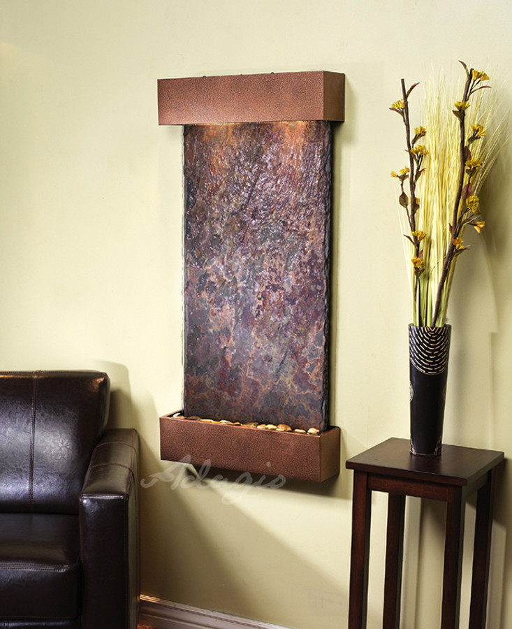 Copper Vein with Rajah Slate