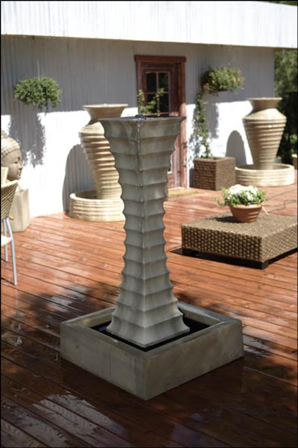 Square Scallop Water Fountain