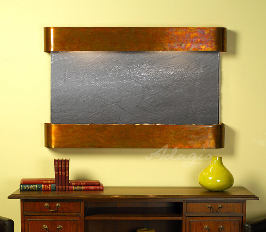 Rustic Copper with Black Featherstone