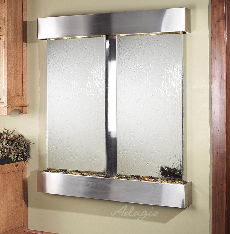 with Stainless Steel Frame Square Edges