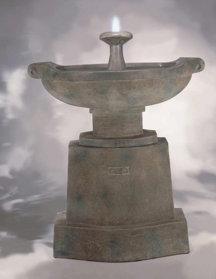 Prairie Urn Cast Stone Fountain by Henri Studio