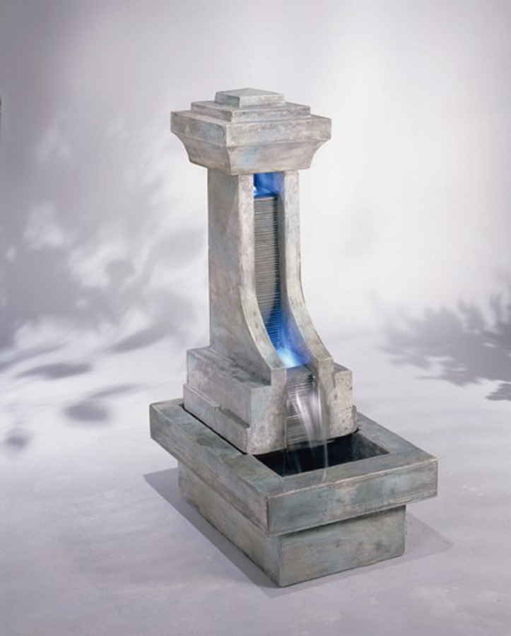 Unique Cast Stone Fenelon Falls Fountain by Henri Studio