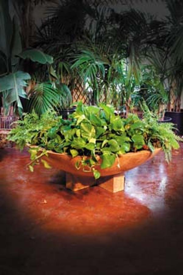 Cross Wok Planter