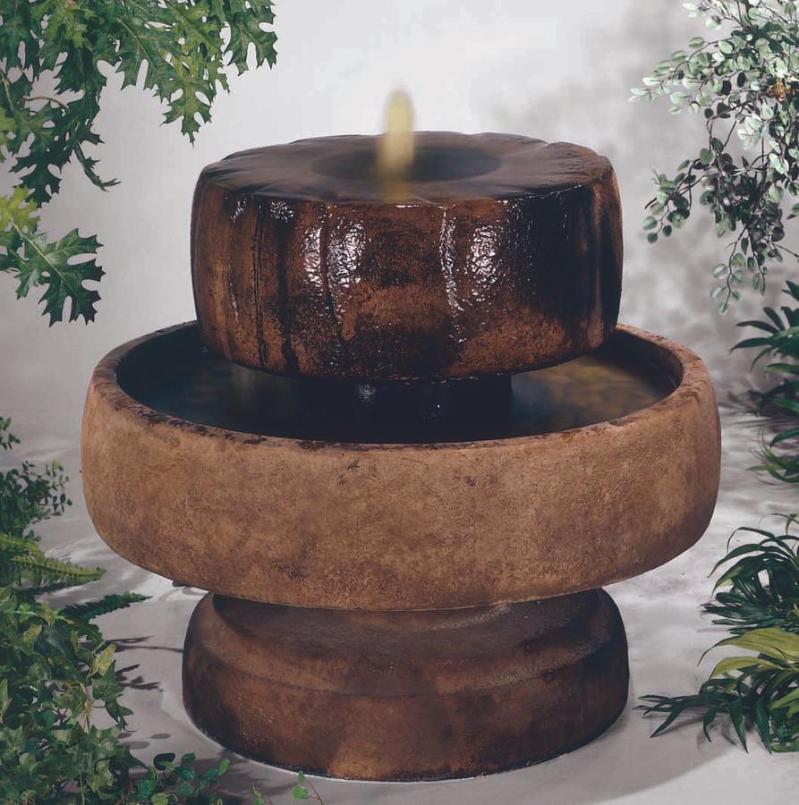 Little Millstone Cast Stone Fountain by Henri Studio