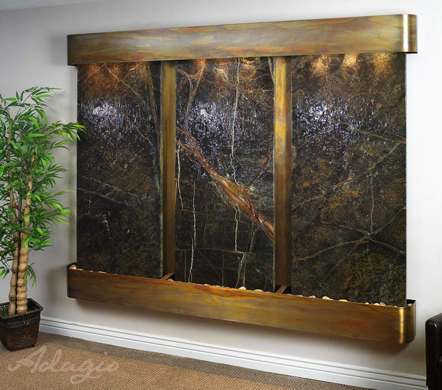 Copper with Green Marble