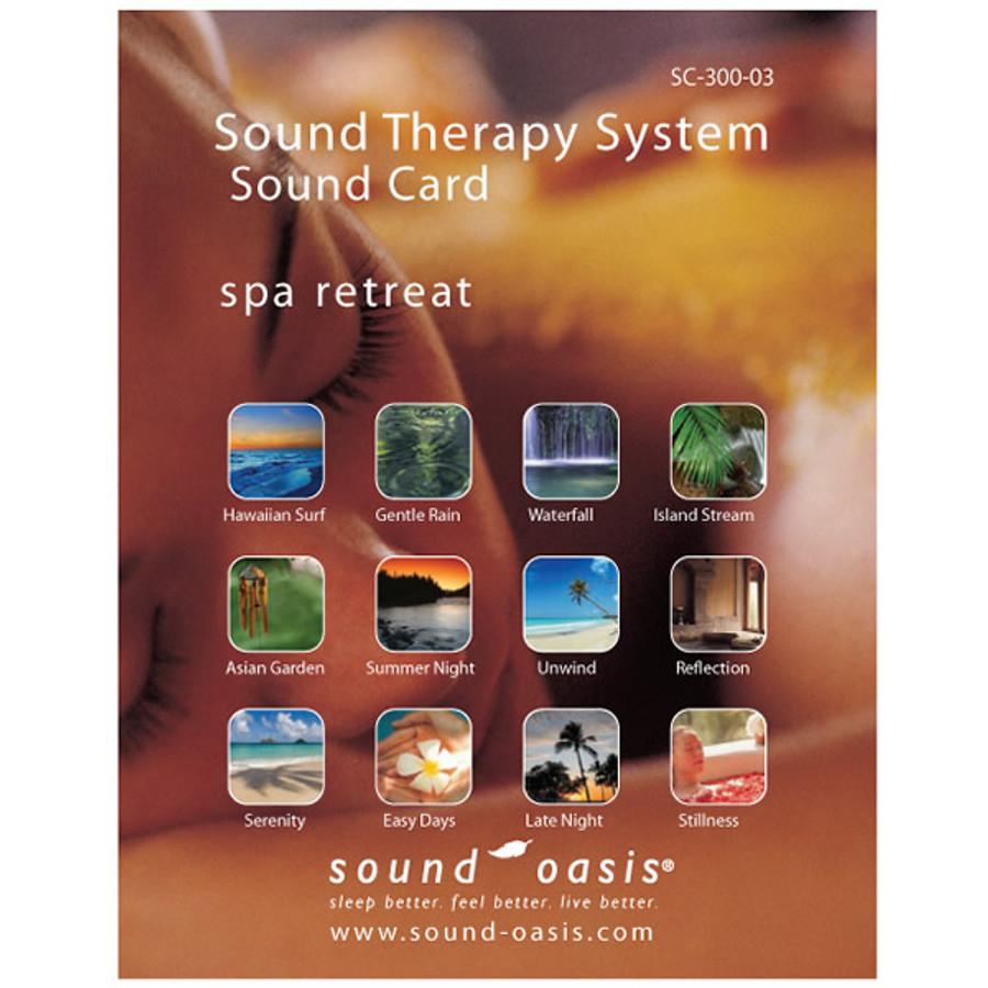 Sound Oasis Spa Retreat Sound Card for S-650 Sound Machine