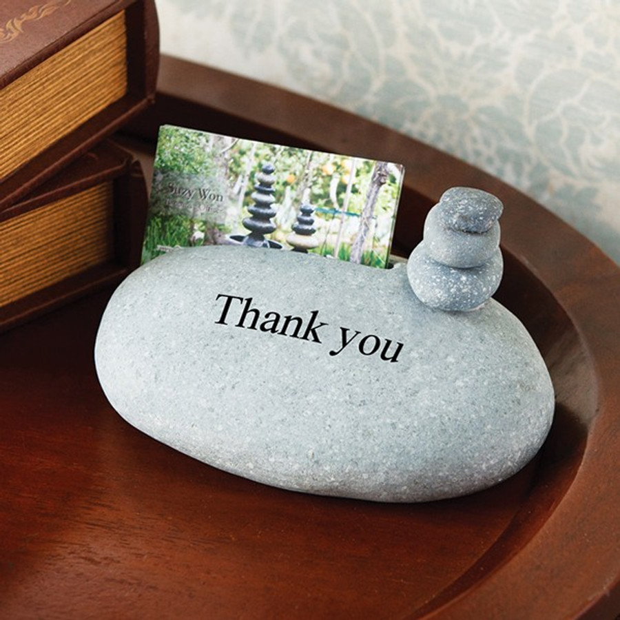 Thank you with cairn