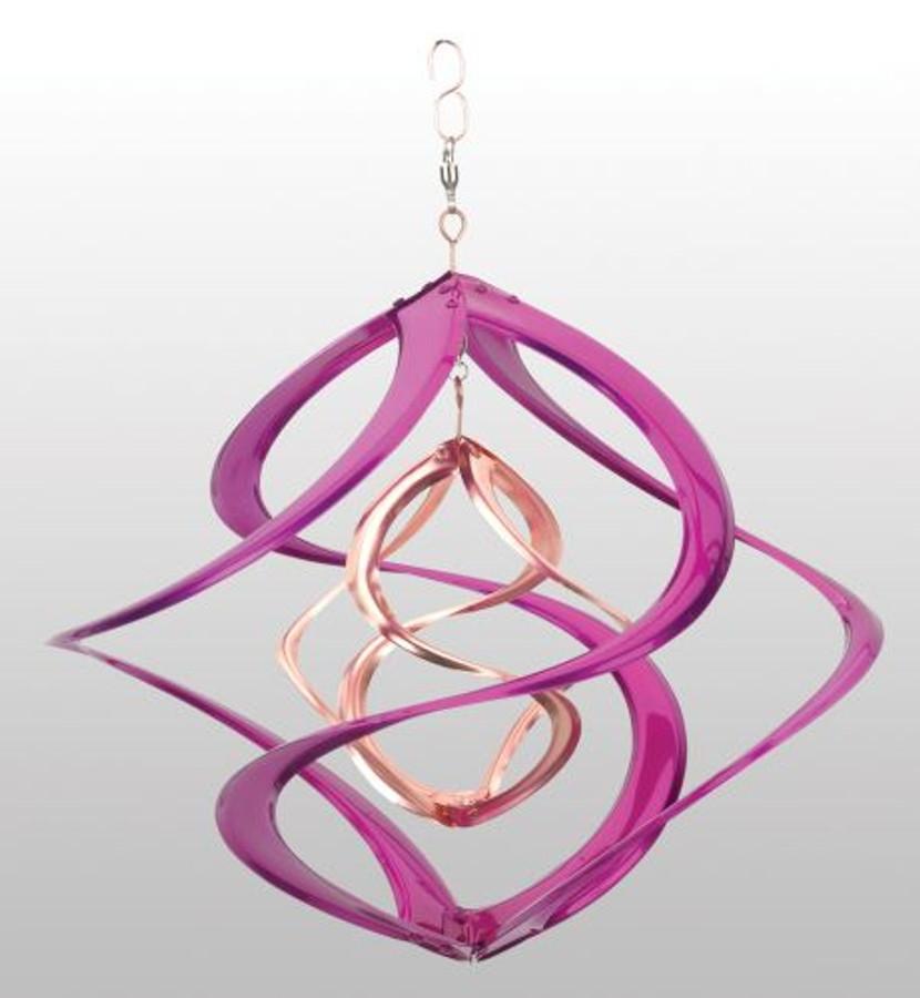 Purple Wind Spinner