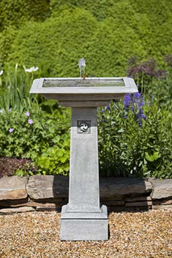 Hampstead Fountain/Birdbath by Campania International