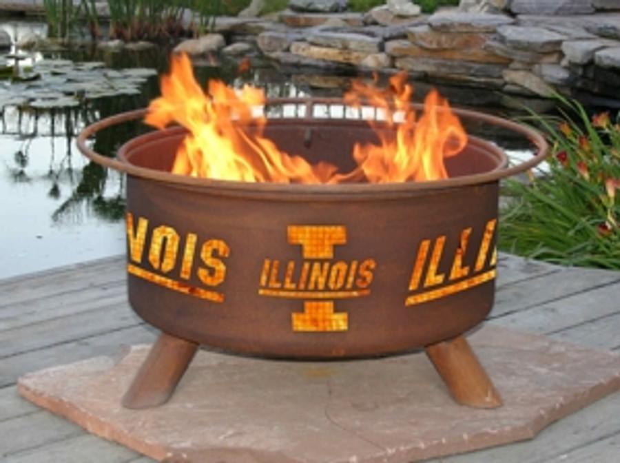 University of Illinois Fire Pit