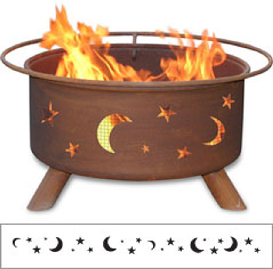 Evening Sky Fire Pit by Patina Products