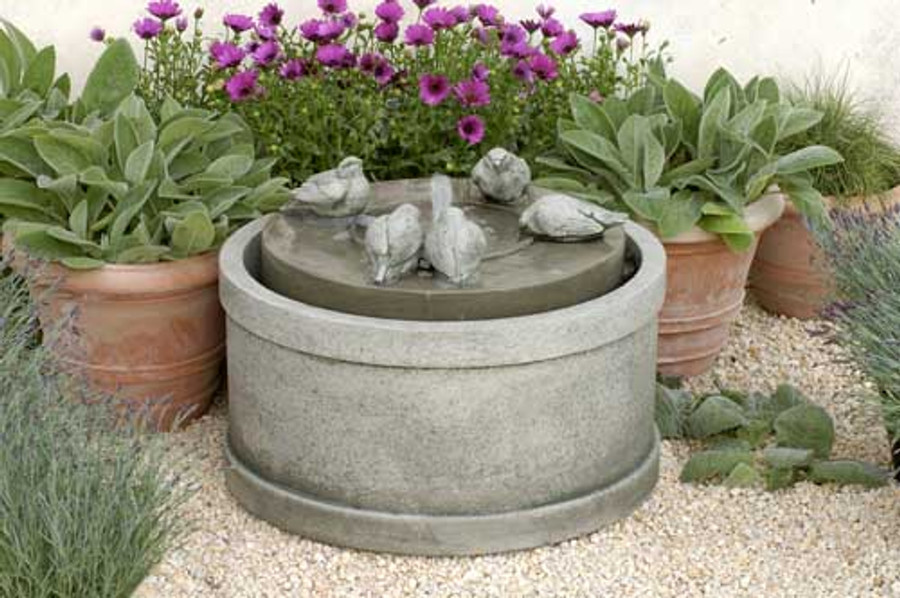 Passaros Outdoor Fountain by Campania International