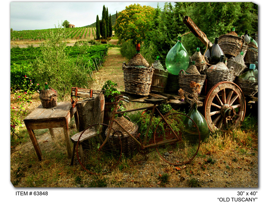 Old Tuscany Canvas Wall Art