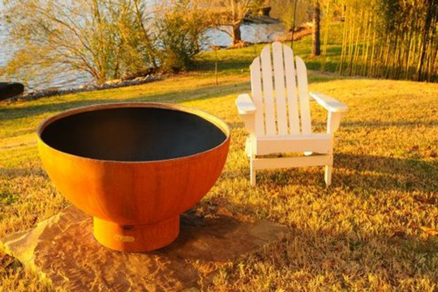Crater Fire Pit by Fire Pit Art