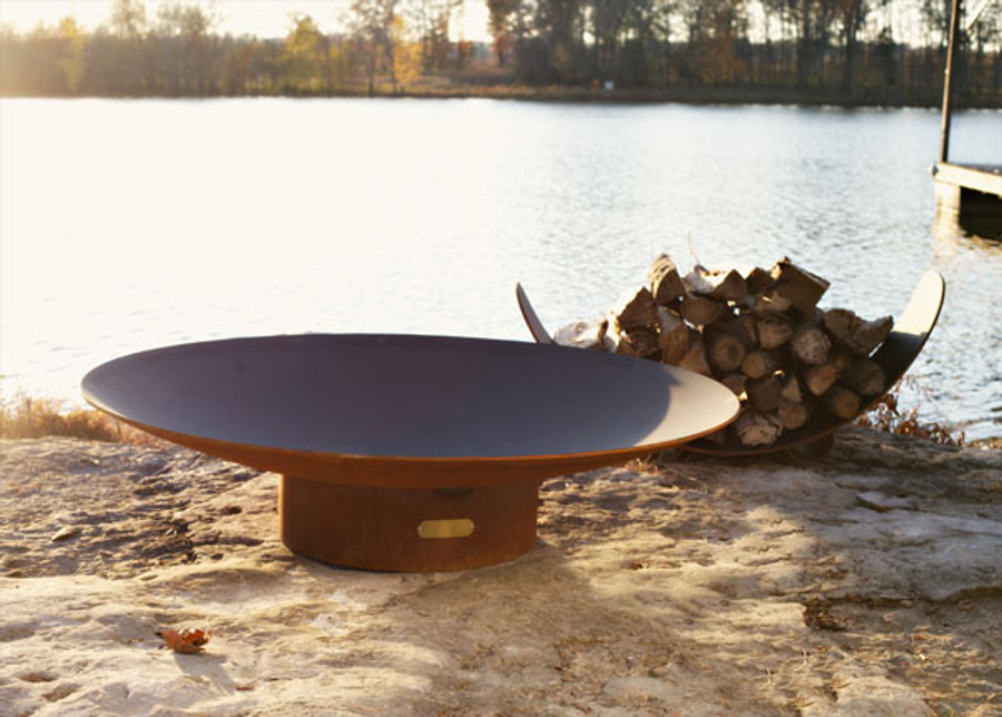 Asia Gas Fire Pit by Fire Pit Art