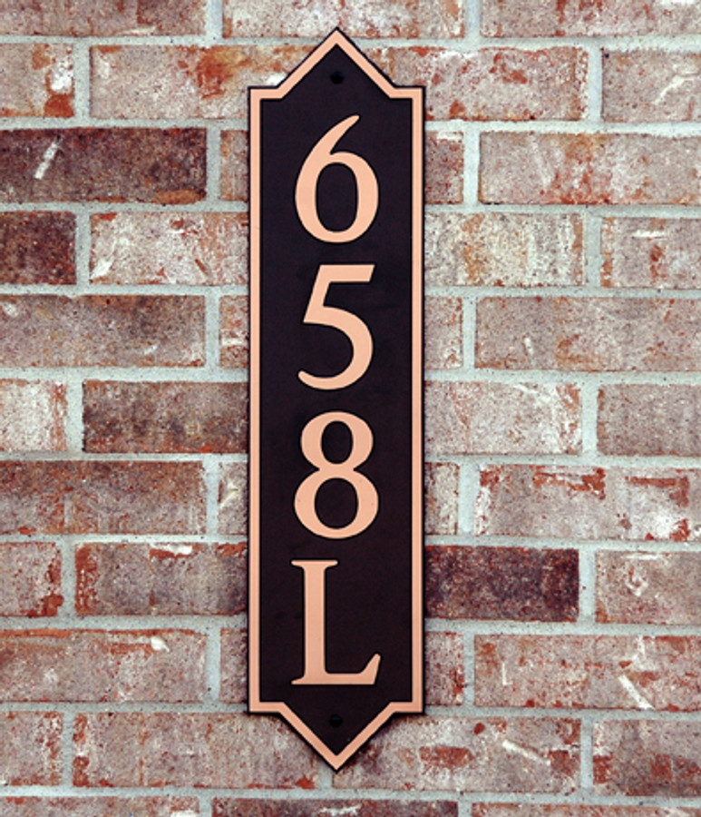 Address Plaque-Model 658