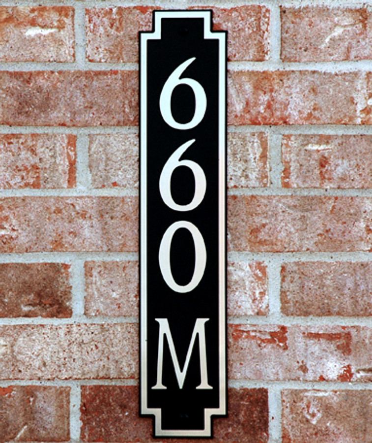 Address Plaque-Model 660