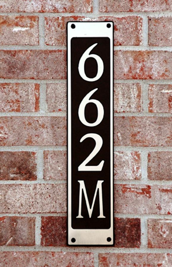 Address Plaque-Model 662