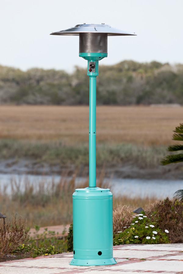 Aqua Blue Powder Coated Patio Heater