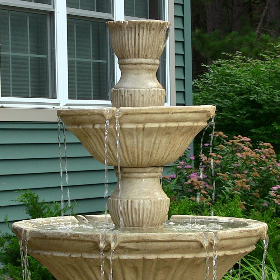 Classic 3-Tier Designer Fountain by Sunnydaze Decor