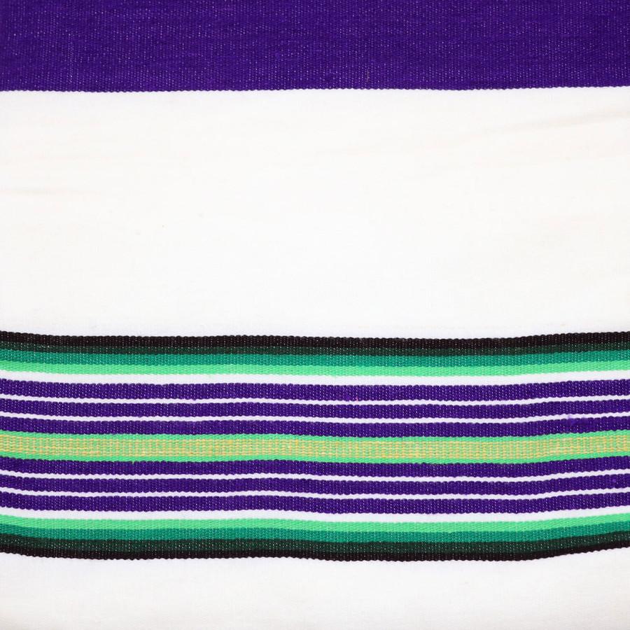 Sunnydaze Mexican Serape Hammock Blanket, 62 Inch Wide x 83 Inch Long