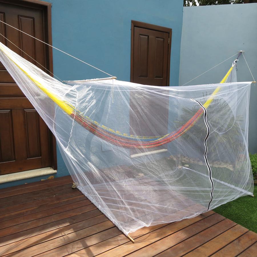 Sunnydaze Extra Large Hammock Mosquito Net