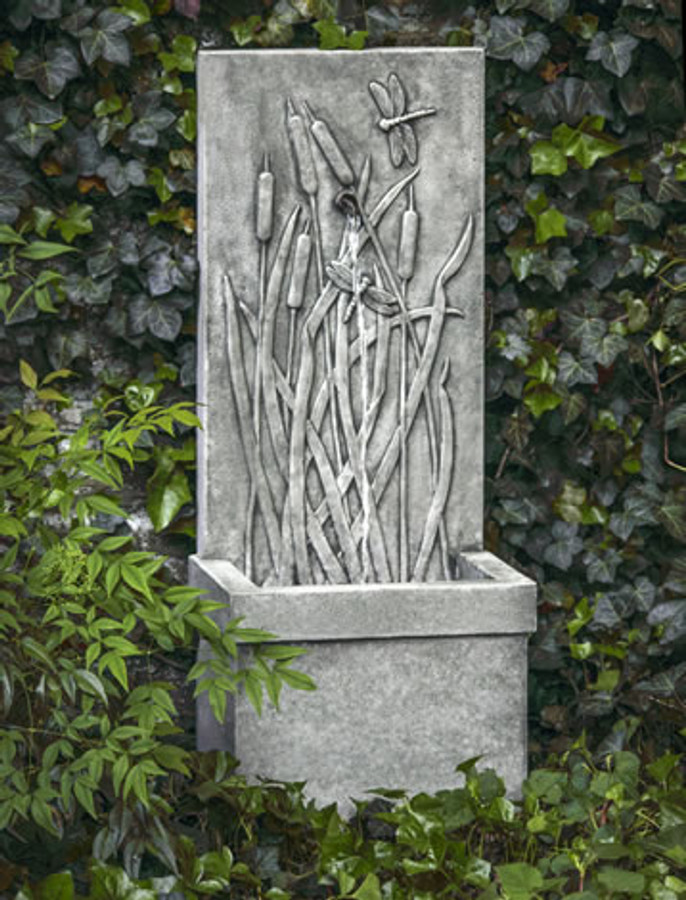 Dragonfly Wall Fountain by Campania International