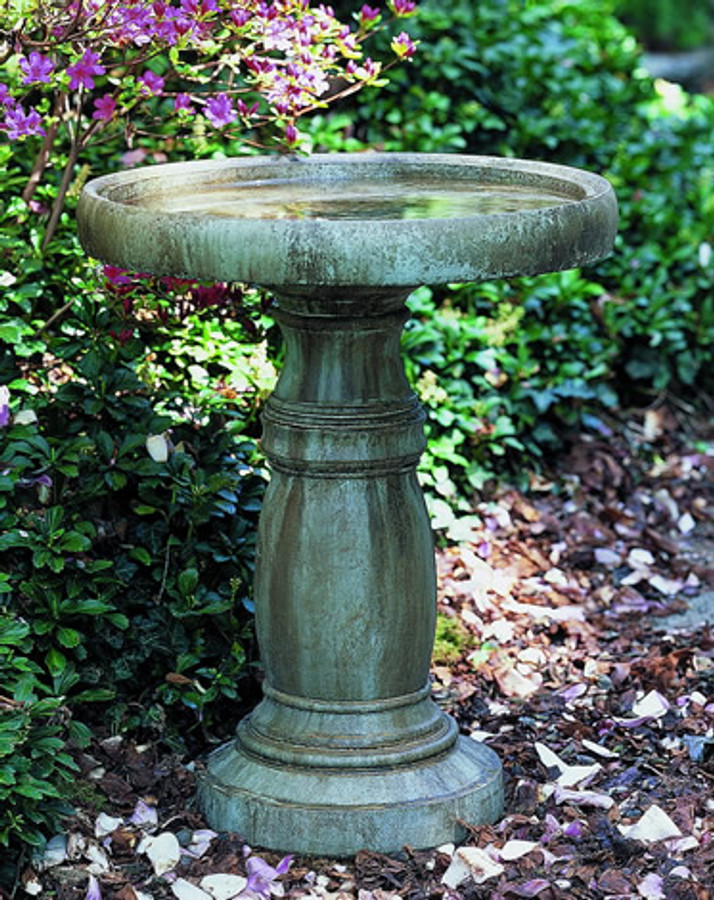 Large Classic Birdbath by Campania International