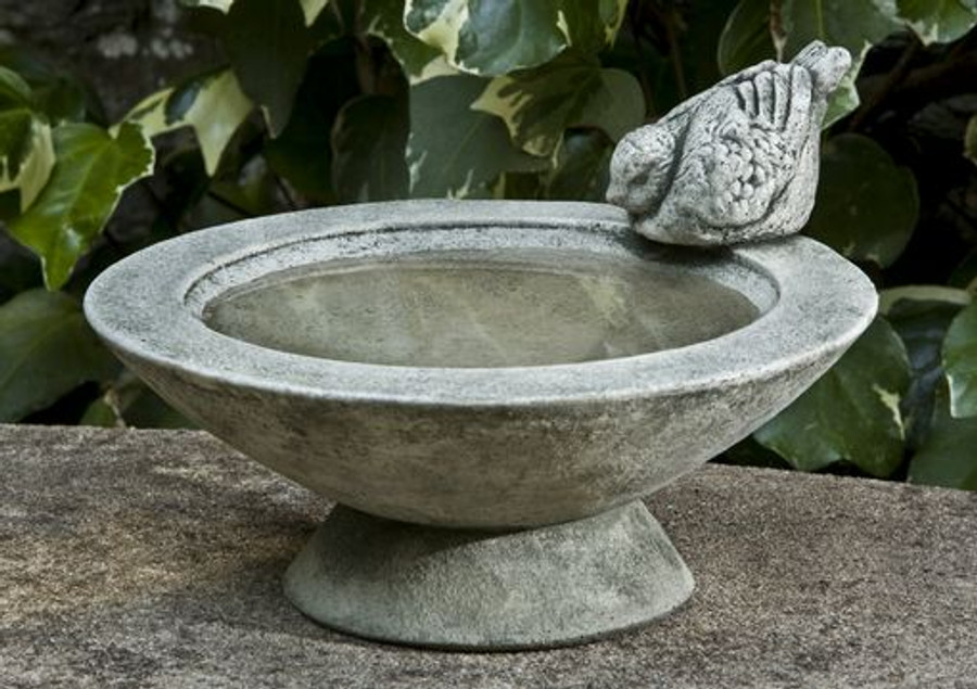 Songbird's Rest Birdbath by Campania International