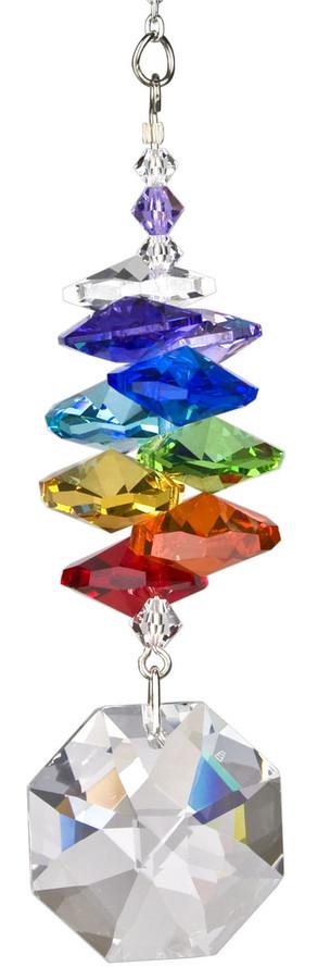 Crystal Rainbow Cascade Octagon Rainbow Maker