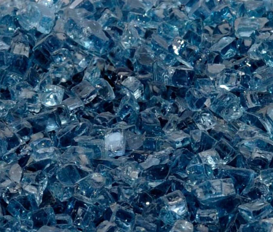"1/4"" Blue Lagoon Fire Glass"