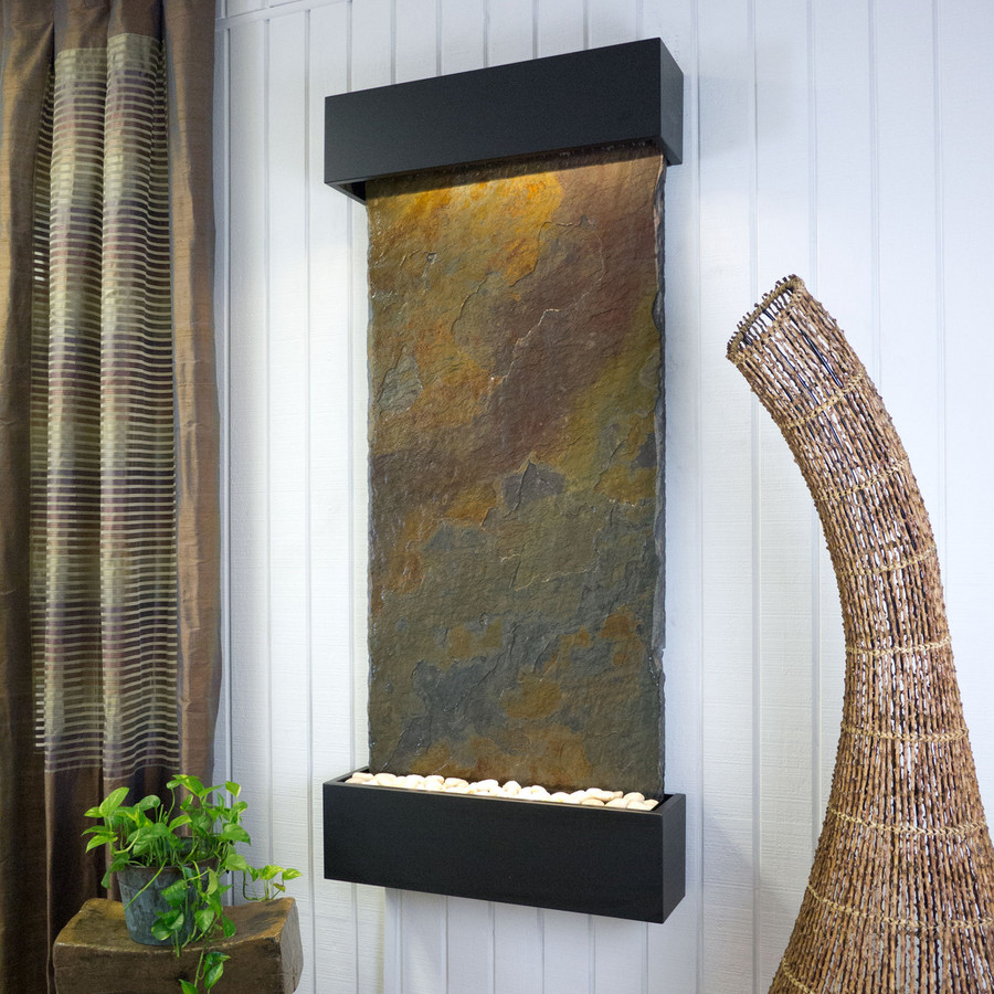 Rajah Slate with Black Frame