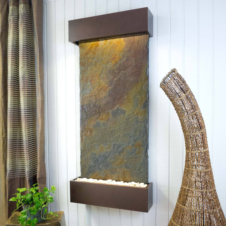 Rajah Slate with Copper Vein Frame