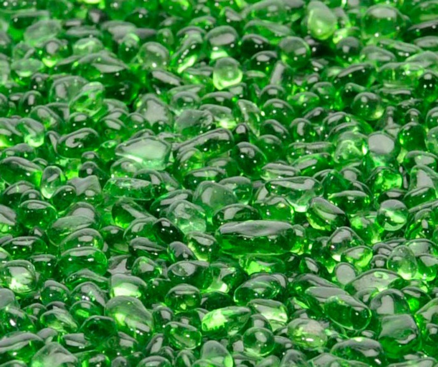 """1/4"""" Electric Green Fire Beads"""