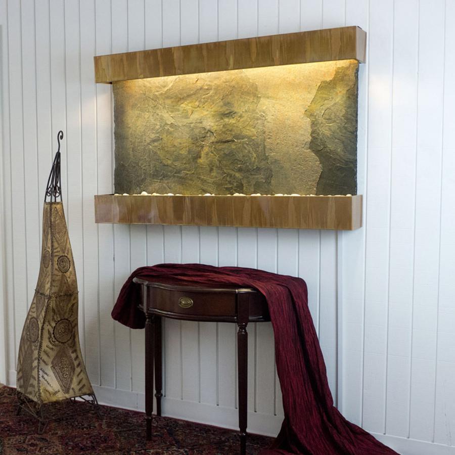 Jeera Slate Copper Patina Frame