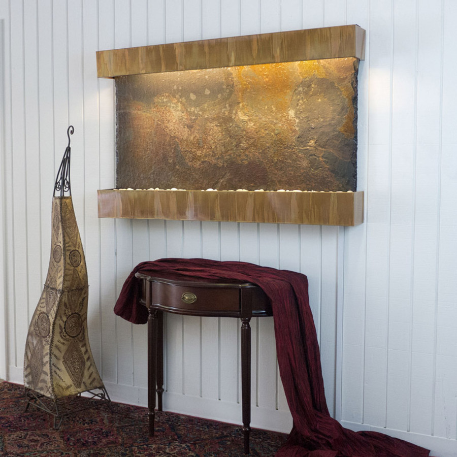 Rajah Slate Copper Patina Frame