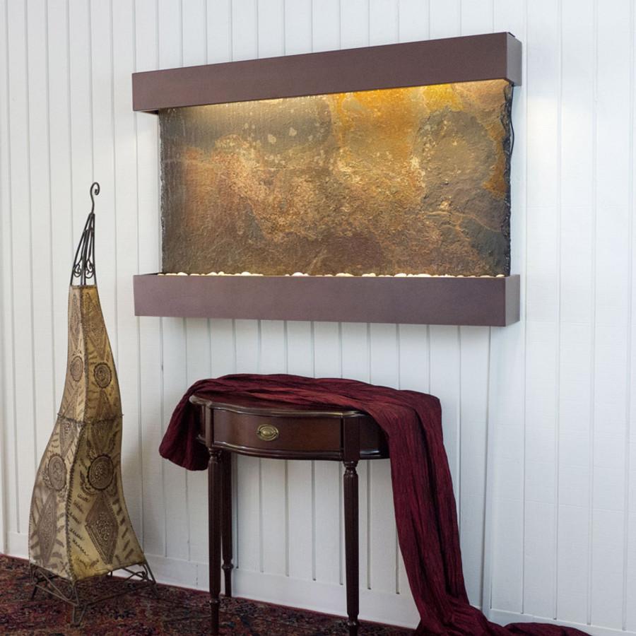 Rajah Slate Copper Vein Frame