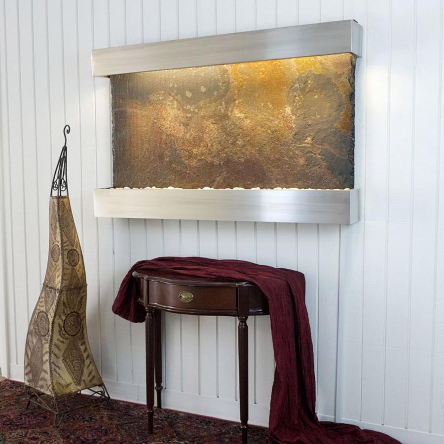 Rajah Slate Stainless Steel Frame