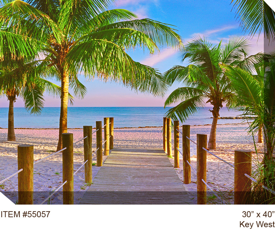 Key West Canvas Wall Art