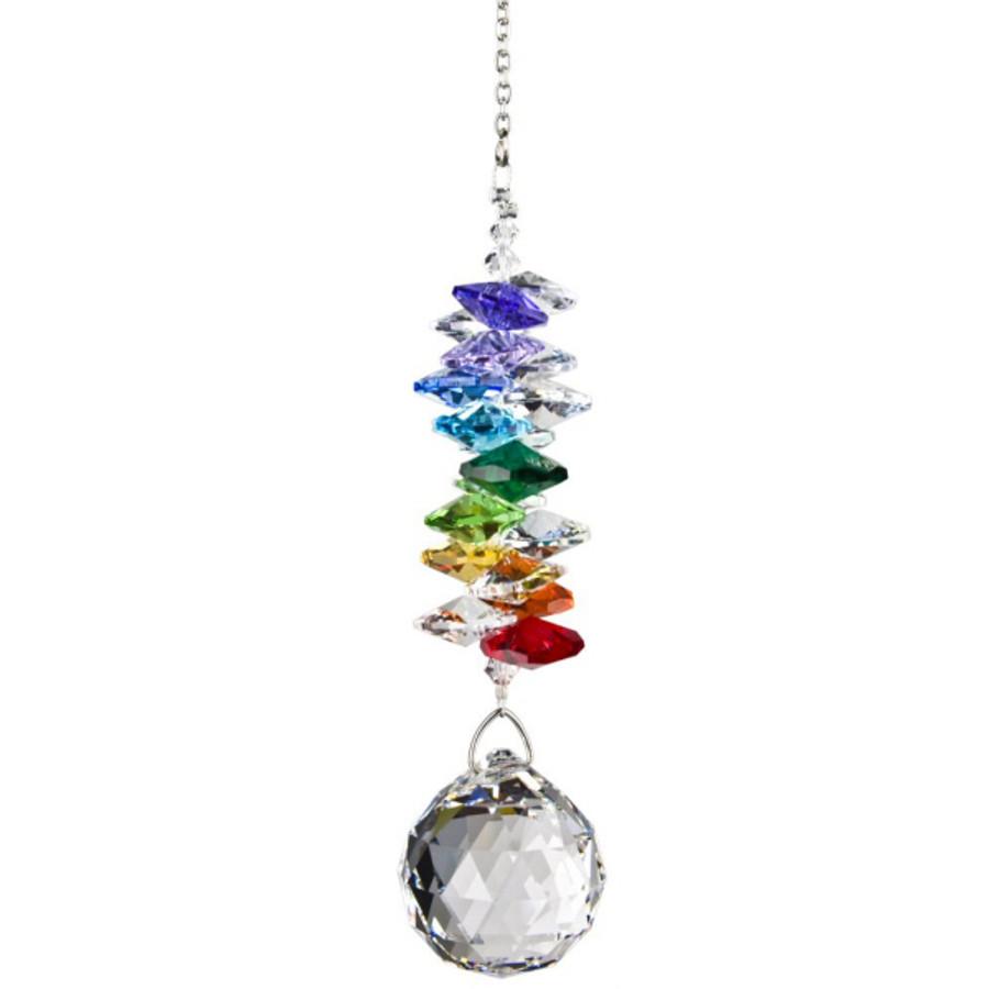 Crystal Grand Cascade Rainbow Suncatcher