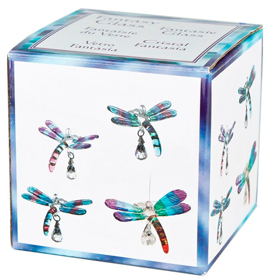 Fantasy Glass Dragonfly Rainbow Maker